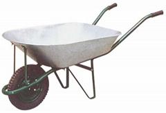 Wheelbarrow with ga  anized tray (WB7201)