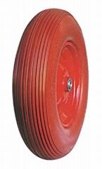 Flat Free Wheel, Trolley Wheel, Wagon Wheel, Flast Free Tyre, PU Foam Wheel