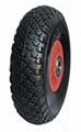 PU Wheel, Flat free wheel,Foaming Wheel,: FP1001 (10X3.00-4)