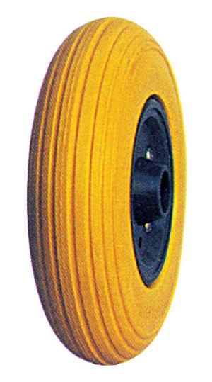 Flat Free Wheel/PU filled tyre/Rubber foam wheel/foam tyre: FP2050 (200X50)