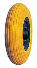 Flat Free Wheel/PU filled tyre/Rubber foam wheel/foam tyre: FP2050 (200X50)