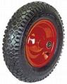 Pneumatic Wheel: PR1606 (16 X 4.00-8)