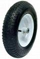 Wheelbarrow wheel/Pneumatic Wheel: PR1602 (16 X 4.00-8)