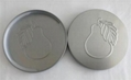 Silver Metal Plastisol Lined Caps for jar candle