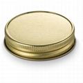 golden mason jar lid