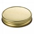 black color mason jar lid