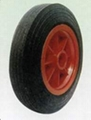 Rubber Wheel/solid wheel for hand trolley,tool cart(PW0801)