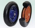 Flat Free Wheel/PU foam wheel/foam tyre