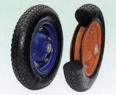 Flat Free Wheel/PU foam wheel/foam tyre/foaming tire (FR1301)