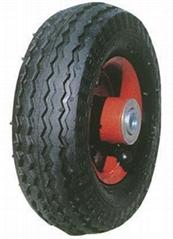 "Pneumatic Tyre/Inflate wheels: PR0601 (6"" X 2"")"