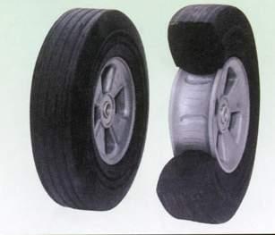 Crumb Rubber Wheel/Rubber Powder Wheel/Granula Rubber Wheel(PW1001)