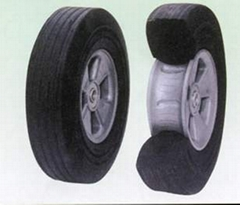 Crumb Rubber Wheel/Rubber Powder Wheel/Granula Rubber Wheel(PW1001)