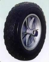 Rubberwheel/rubber wheel/solid wheel(SR0804)