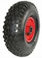 Hose Reel Cart Wheel, Industrial Wheel, Cart Wheel, Wagon Wheel, Dolly Wheel 1