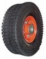 Pneumatic Wheel: PR1017 (10 X 4.10/3.50-4)