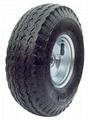 Pneumatic Wheel: PR1018 (10 X 4.10/3.50-4)