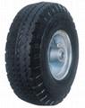 Pneumatic Wheel: PR1019 (10 X 4.10/3.50-4)
