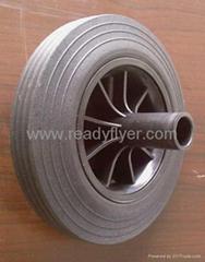 garbage bin wheel /dustbin wheel /solid wheel for trash can/wastebin wheel/ whee
