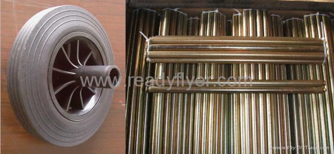 wheelie bin wheel,garbage bin wheel,MGB wheel,dustbin wheel,axle,shaft