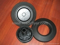 Wheelie bin wheel,Solid Wheel, Dustbin