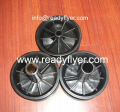Plastic Hub/Rim for Dustbin Wheel, Garbage Bin Wheel, Wheelie Bin Wheel