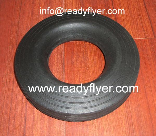 Solid Tyre For Dustbin Wheel, Trash Container Wheel, Wheelie Bin Wheel,Ash bin 1