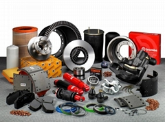 Truck & trailer parts: Axle parts bearing+oil seal+ Brake Camshafts+ Repair kit