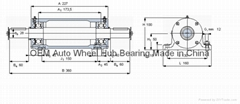 Bearing PDN314 HYDRAULIC PUMP SYB150-MPA HMV100E