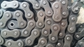 Roller chain attachment