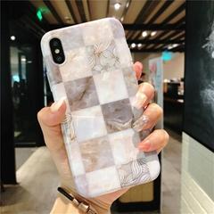 Stone Texture Flower Splice Pattern Soft
