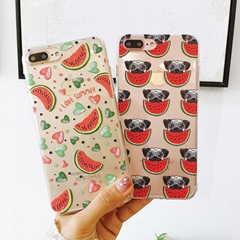 Summer Fruit Watermelon Soft Cases For