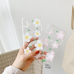 Cartoon Flower Soft Phone Case For iPhone 6 6S 7 8 Plus X XS Max XR
