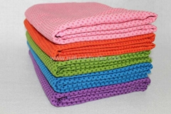 Microfiber Yoga towel with Silicon dots