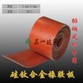 硅钛合金橡胶板、硅纤防火密封胶