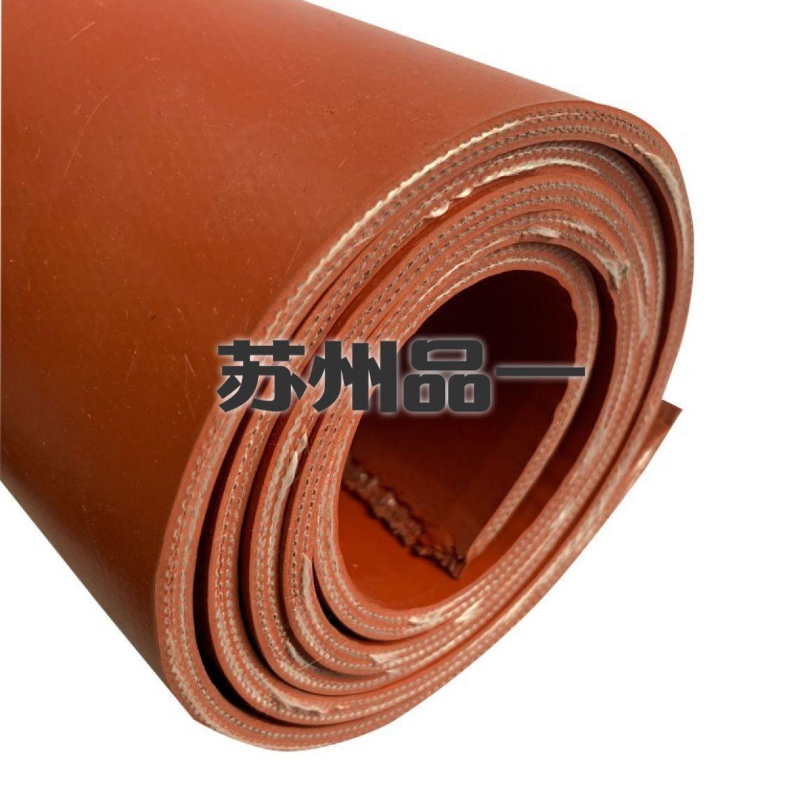 5.0硅鈦合金橡膠板 排煙風管法蘭墊片 4