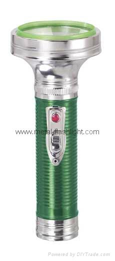 LED Metal/Steel Colour Flashlight/Torch FT2DE21C/FT2DE21E
