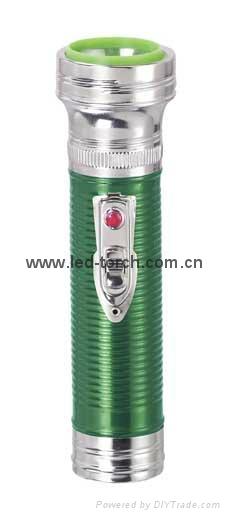 LED金屬/鐵質彩色手電筒 FT2DE1C/FT2DE1E 2