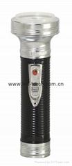 LED金屬/鐵質黑色手電筒 FT2DE2B