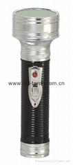 LED金屬/鐵質黑色手電筒 FT2DE4B