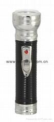 LED金屬/鐵質黑色手電筒 FT2DE7B