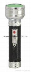 LED金屬/鐵質黑色手電筒 FT2DE10B
