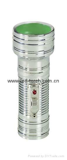 LED金屬/鐵質手電筒 FT1DE3 1