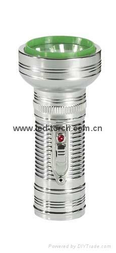 LED金屬/鐵質手電筒 FT1DE8 1