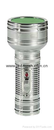 LED金屬/鐵質手電筒 FT1DE10 1