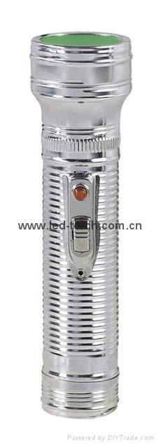 LED金屬/鐵質手電筒 FT2DE3 1