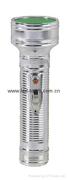 LED金屬/鐵質手電筒 FT2DE4 1