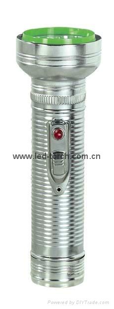 LED金屬/鐵質手電筒 FT2DE8 1