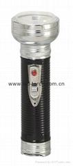 LED金屬/鐵質黑色手電筒 FT2DE8B