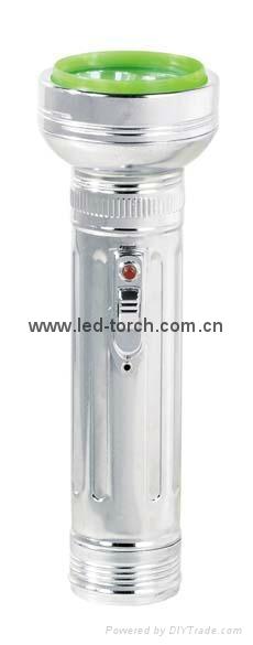 LED金屬/鐵質手電筒 FT2DE8 5