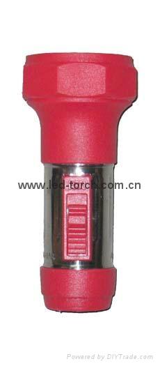 LED鐵塑彩色手電筒 FTJ1DE2C 1